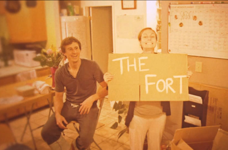 Build a fort!