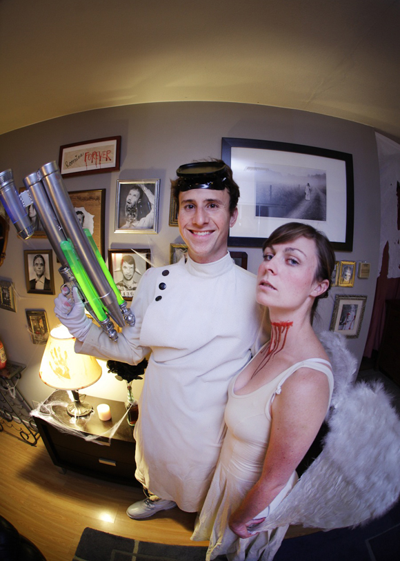 DIY Death Ray - mad scientist costume (Dr. Horrible costume)