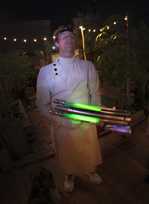 DIY Death Ray - Halloween costume mad scientist (Dr. Horrible!)