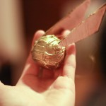 Golden Snitch Ornament DIY – Harry Potter Holiday craft