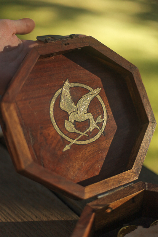 Hunger Games Treasure Hunt Chest