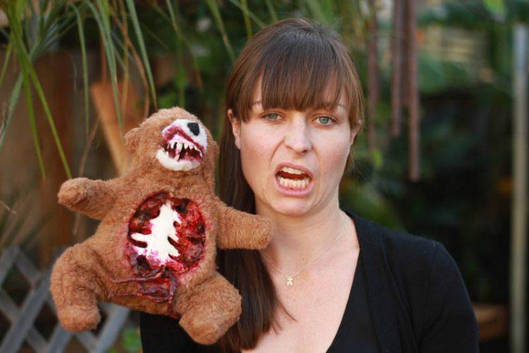 Zombie Teddy DIY