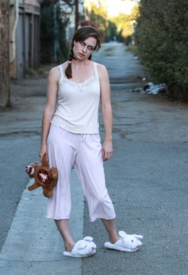 Lucy's Easy Zombie Costume