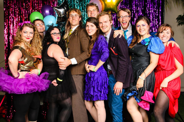 80s prom party