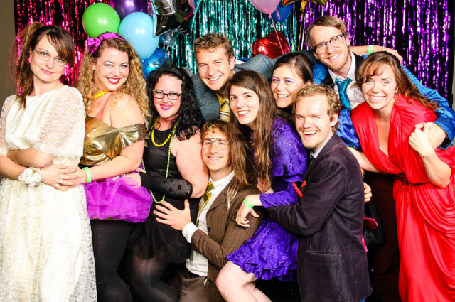 Awesome 80s prom party - Photos from an 80s theme party