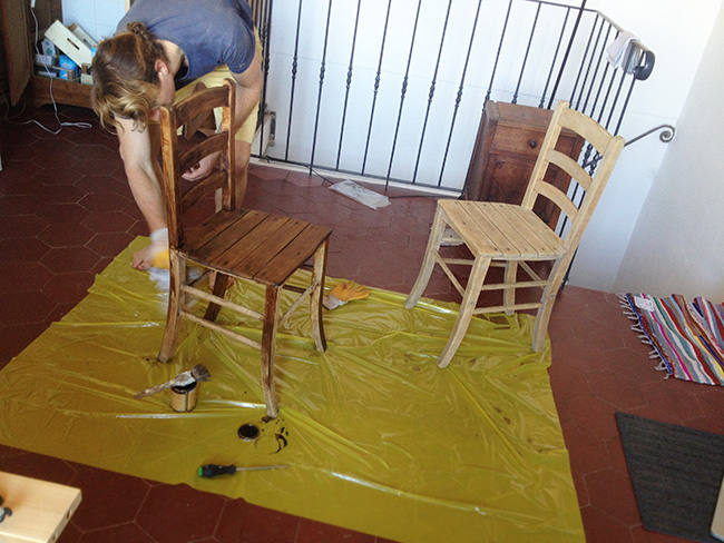 Upcycled table DIY - Upcycled Dining Table How To
