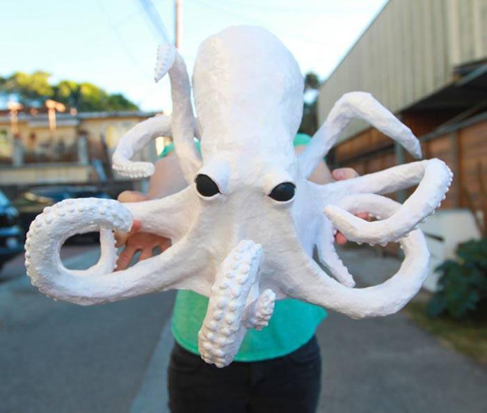 Paper Mache Octopus Craft Tutorial