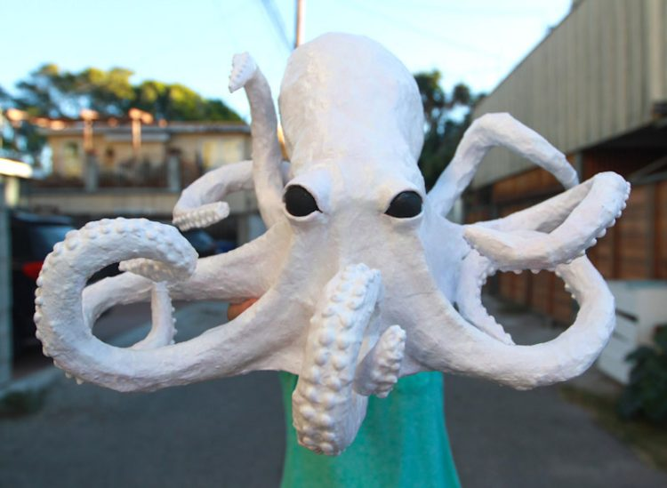 Paper Mache Octopus Craft: A Tutorial