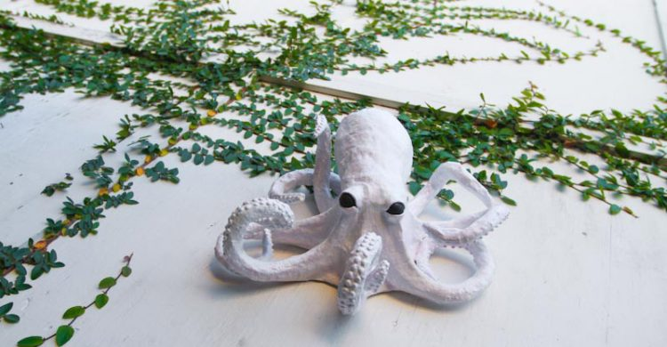 Papier Mache Octopus Craft