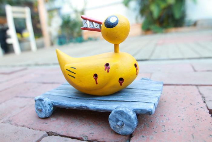 Nightmare Before Christmas Toy Duck