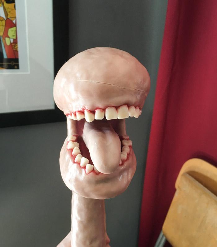 Flesh Eating Plant (Halloween Craft)