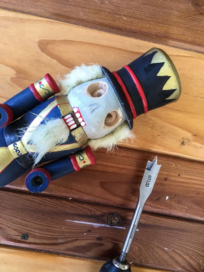 Dead Nutcracker DIY craft