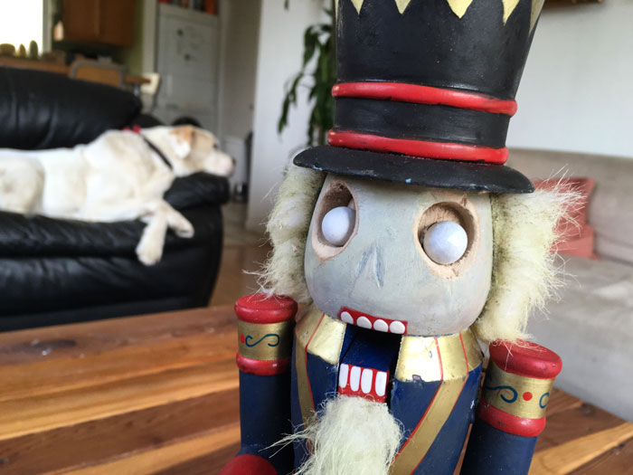 Scary Nutcracker DIY