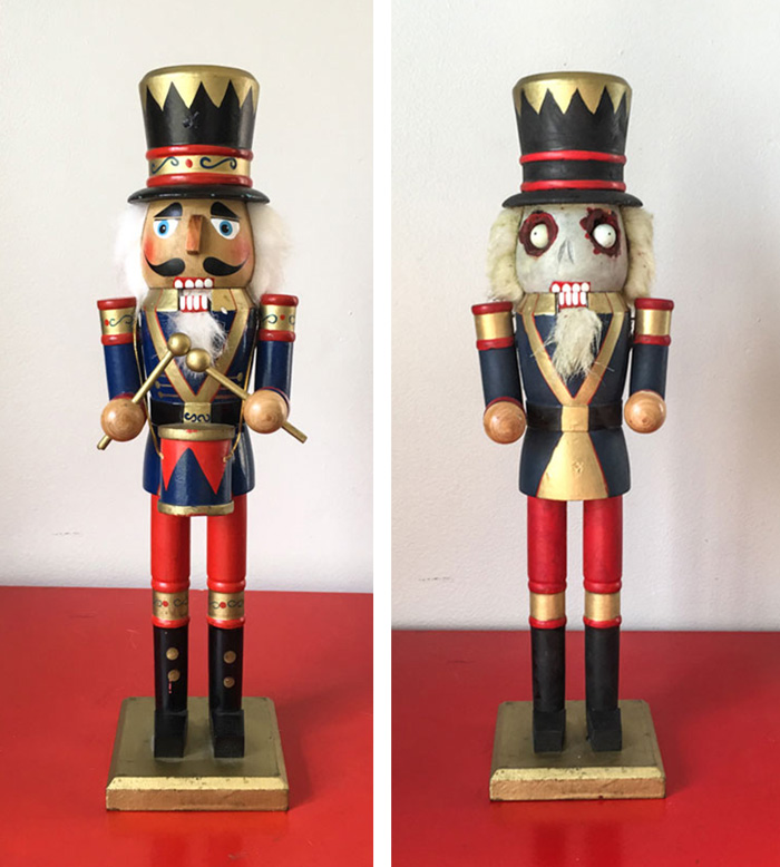 Zombie Nutcracker DIY (Halloween Craft Tutorial)