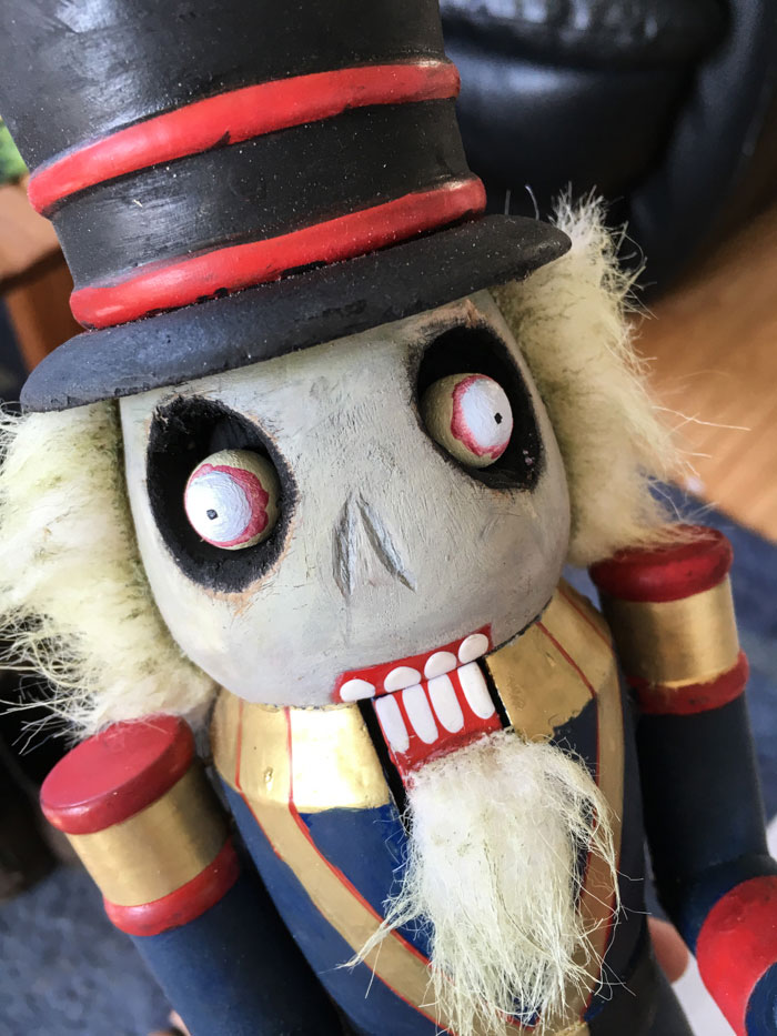 Zombie Nutcracker Tutorial DIY
