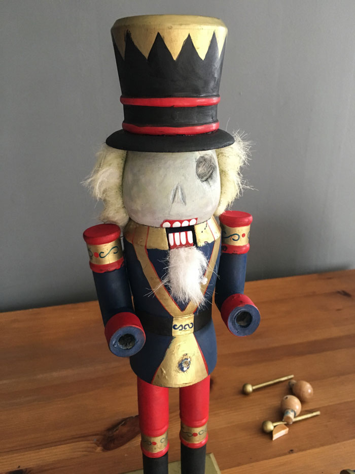 Zombie Nutcracker Tutorial